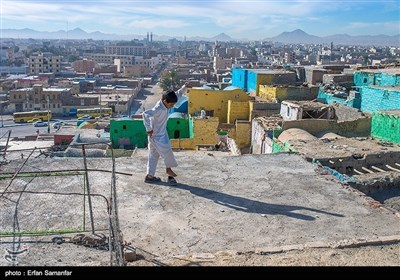 زاہدان میں شیرآباد کے علاقے کے خوبصورت مناظر