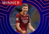 فوتبال جهان| ژکو بهترین بازیکن هفته سوم لیگ قهرمانان اروپا شد