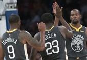 لیگ NBA| لیکرز در غیاب جیمز مغلوب وریرز شد/ پیروزی راکتس با آمار خیرهکننده هاردن