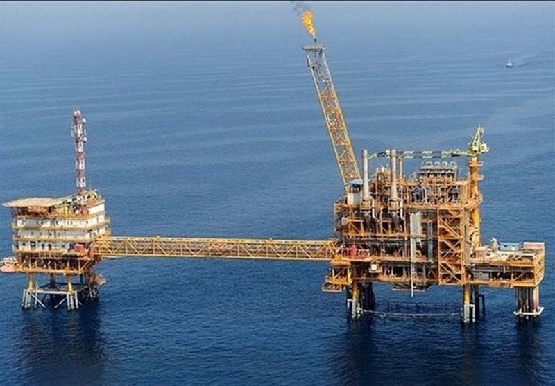 بوشهر|دومین سکوی دریایی فاز 14 پارس جنوبی نصب و وارد مدار تولید شد