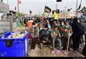 خدمترسانی 1400 جهادگر ایرانی به زائران اربعین حسینی
