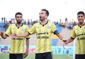 لیگ برتر فوتبال| برتری پارس جنوبیجم مقابل پیکان در نیمه نخست