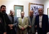 """نمایشگاه خوشنویسی و نقاشیخط """"نی ناله"""" افتتاح شد +عکس"""