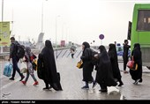 اخبار اربعین 98| آمادگی ناوگان حمل و نقل جادهای استان کرمانشاه برای بازگشت زائران