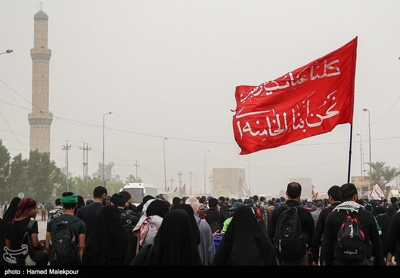 کلیپ راهپیمایی اربعین|«لبیک یا حسین» محمود کریمی