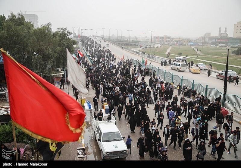تازهترین اخبار اربعین| عدمتوزیع ارز در مرزهای سهگانه/ ازدحام مردم در مرز مهران/ هوای شلمچه طوفانی شد