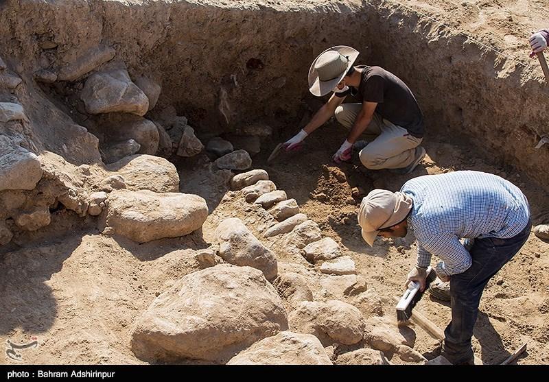 اردبیل| کاوش باستانی دستکندهای روستای تاریخی کنزق سرعین به روایت تصویر