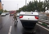 افزایش 30 درصدی تصادفات در پایتخت همزمان با بارش باران