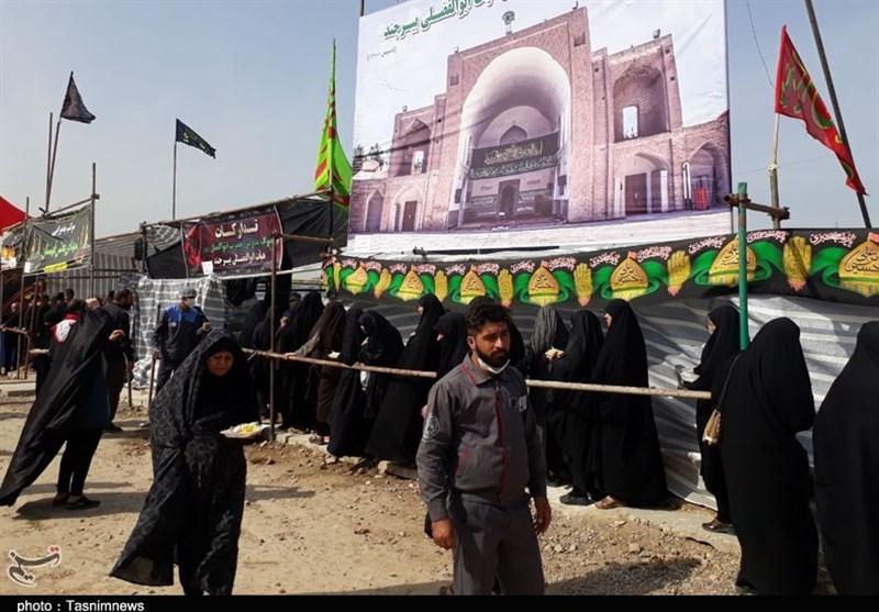 اخبار اربعین 98| 8 موکب تا پایان ماه صفر برای پذیرایی از زائران در خراسان جنوبی فعال است