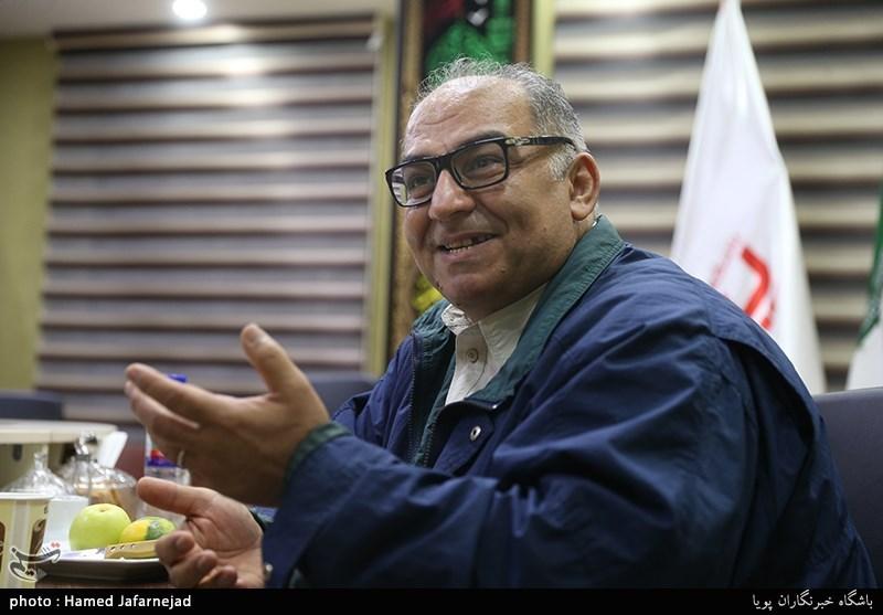 اسماعیل براری فیلمساز در میزگرد سینمای دفاع مقدس