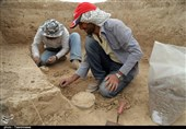 بجنورد| مراحل باستان شناسی یادگاری بهجامانده از دوران هخامنشی به روایت تصویر