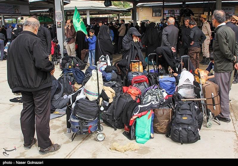 تردد پرحجم زائران عتبات عالیات در محورهای مواصلاتی استان ایلام