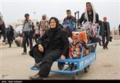 تازهترین اخبار اربعین| تردد بیش از یک سوم زائران از مسیر دهلران/ آسمان صاف خوزستان مهیای بازگشت زائران حسینی