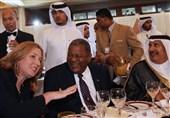 افشاگری لیونی درباره دیدارهای متعدد با وزیران خارجه عرب/ مصافحه گرم وزیر زن صهیونیست و مقام اماراتی+عکس