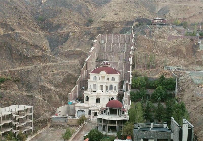 اختصاصی جزئیات کوهخواری برای ساخت ویلای مجلل در منطقه اوشان