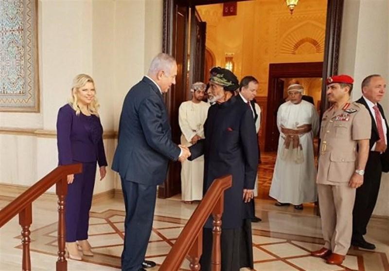 تلاش صهیونیستها برای مرتبط کردن حضور نتانیاهو درعمان به ایران / نتانیاهو تنها برنده سفر به عمان