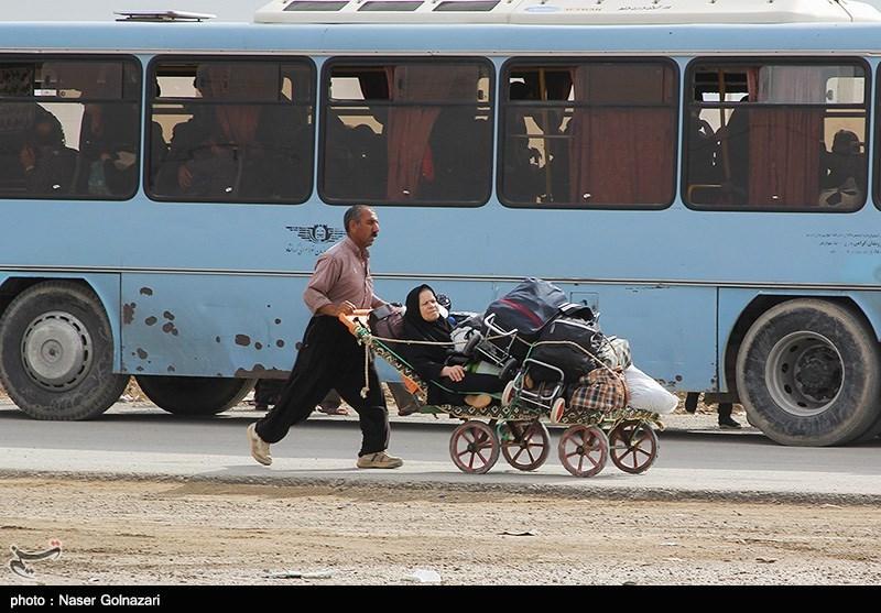اعزام بیش از ۱۰۰ دستگاه اتوبوس از کرمانشاه برای بازگردان زائران از مهران