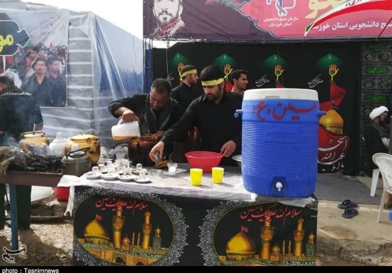 86 موکب اهواز برای اربعین حسینی در مرز چذابه مستقر میشوند