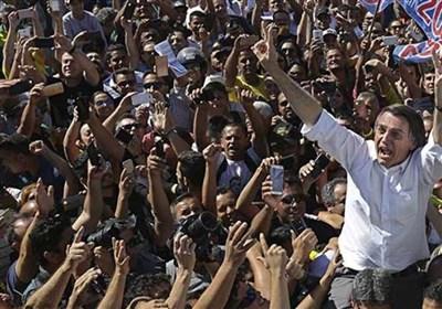پلیس برزیل حامیان بولسونارو را بازداشت کرد