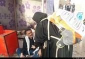 خدمترسانی پزشکان جهادی به زائران اربعین حسینی+عکسوفیلم