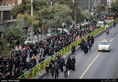 People of Tehran Hold Massive Arbaeen Procession