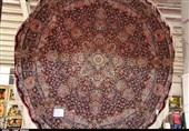 برگزاری نمایشگاه فرش دستباف ایران در ارومیه+فیلم