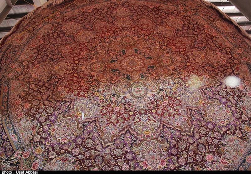 4 هزار متر مربع فرش عتبات عالیات در کرمان تولید شده است