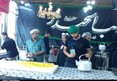 موکب «الحیدر» کاشان میزبان زائران حسینی در کربلا+تصاویر