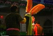 کاشان| مراسم تعزیه خوانی به مناسبت اربعین سالار شهیدان در نوش آباد+تصاویر