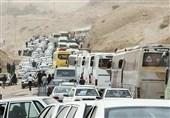 ایلام| 4118 اتوبوس برای جابهجایی زائران اربعین در مهران در 48 ساعت گذشته بهکار گرفته شدهاند