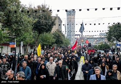 اربعین حسینی: اسلامی جمہوریہ ایران کے مختلف شہروں میں عزاداری کی تصویری جھلکیاں