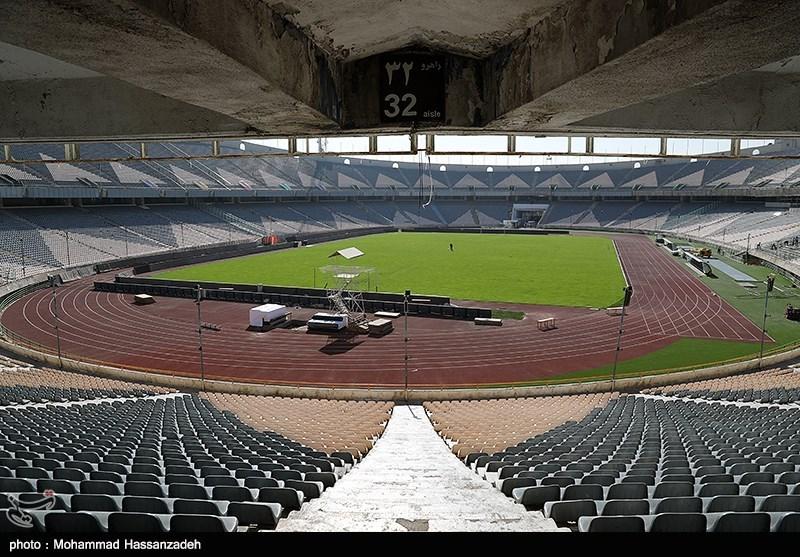 خوشآمدگویی به کاشیما آنتلرز در رختکن و بازدید وزیر ورزش از ورزشگاه آزادی + عکس