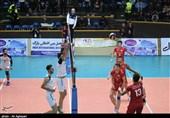 بازی تیم والیبال دورنای ارومیه با پیکان تهران به روایت تصویر