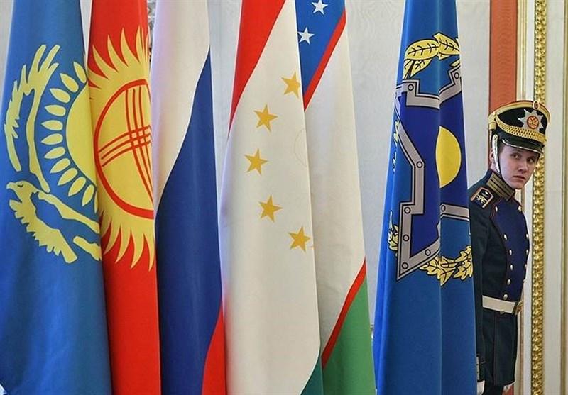 رزمایش مشترک سازمان پیمان امنیت جمعی در مرز افغانستان-تاجیکستان