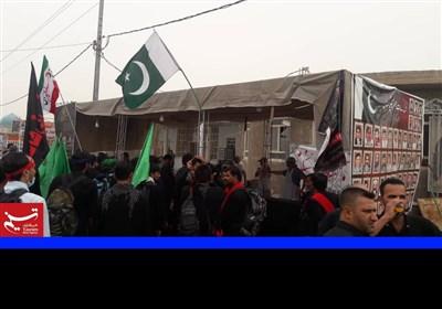 پاکستانی موکب کی جانب سے زائرین اربعین کے لئے انتظامات کی تصویری جھلکیاں