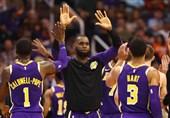 لیگ NBA|پیروزی لیکرز با درخشش جیمز در کلیولند/ وریرز باز هم باخت