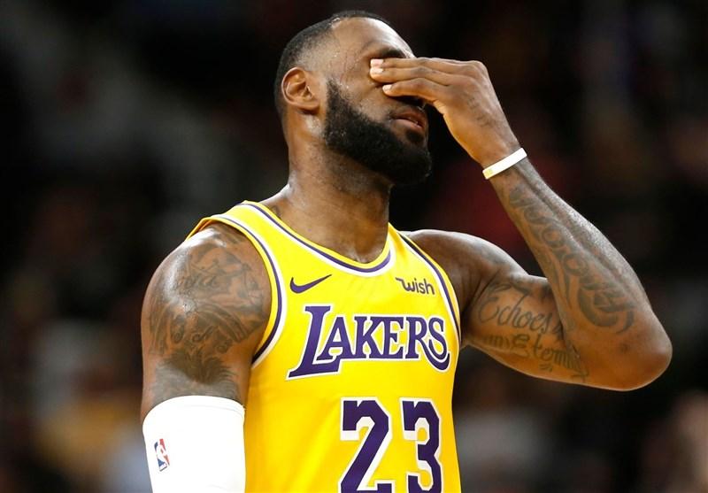 لیگ NBA  لیکرز پلیآف را از دست داد/ پیروزی راکتس با درخشش هاردن