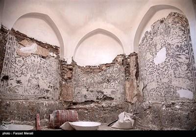 مرمت حمام تاریخی نظام - کرمانشاه