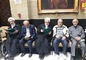 برگزاری مراسم ترحیم همسر یکی از اعضای سابق حزب اتحاد ملت + عکس