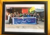 فرزندان شهدای تیپ فاطمیون خادم زائران اربعین در اراک تجلیل شدند