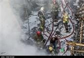 آتشسوزی گسترده و مرگبار در کارگاه مبلسازی + فیلم و تصاویر