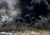 زخمی شدن 40 فلسطینی در سی و چهارمین راهپیمایی بازگشت