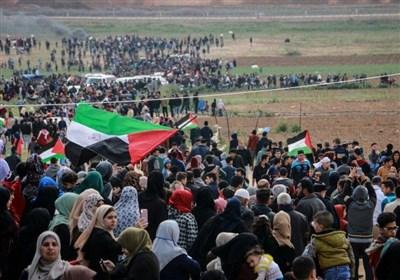 فراخوان مشارکت گسترده فلسطینیان در سی و چهارمین راهپیمایی بازگشت
