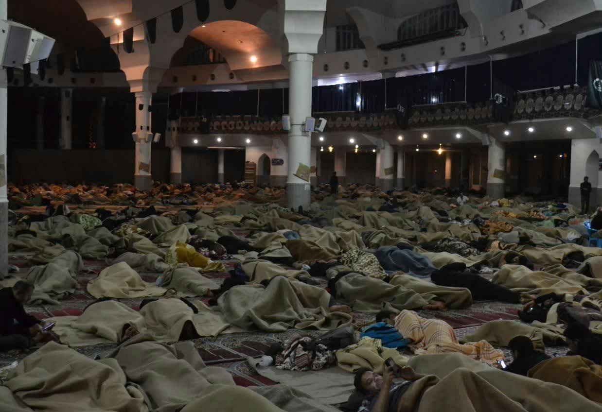 121 هزار زائر داخلی و خارجی اربعین در مصلی قم اسکان پیدا کردند