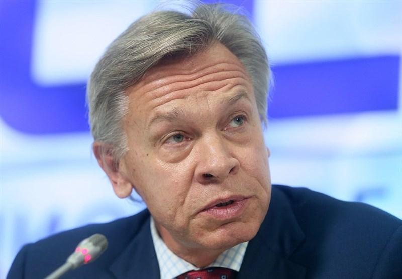 هشدار سناتور روس درباره نزدیک شدن ناوگان آمریکا به سواحل روسیه