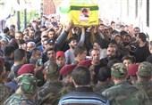 تشییع پیکر فرمانده شهید حزبالله در لبنان