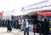 تهران| خدمات متنوع ستاد اجرایی فرمان حضرت امام(ره) در اربعین حسینی
