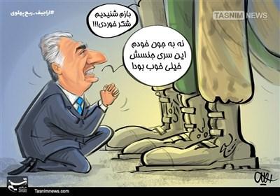 کاریکاتور/ اراجیفهای ربع پهلوی!!!