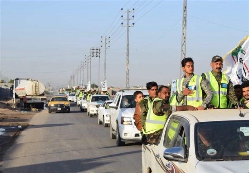 جزئیات خدمترسانی حشدالشعبی به زائران اربعین حسینی+عکس