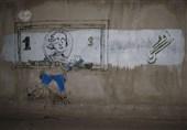 گرافیتیهای ضدآمریکایی در تهران +عکس